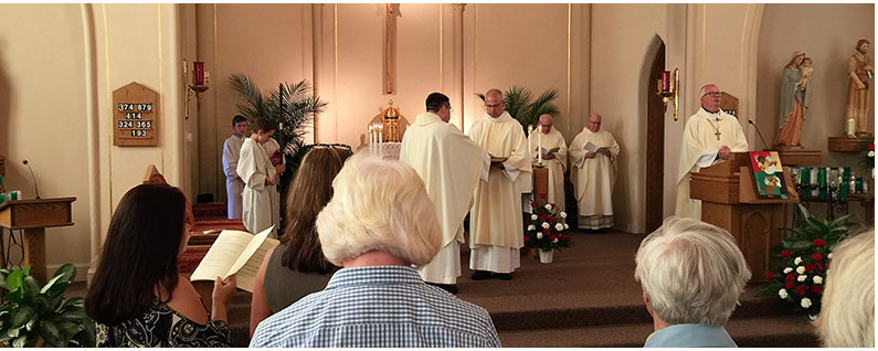 Read the History of St  Joseph Parish in Dyer, Indiana